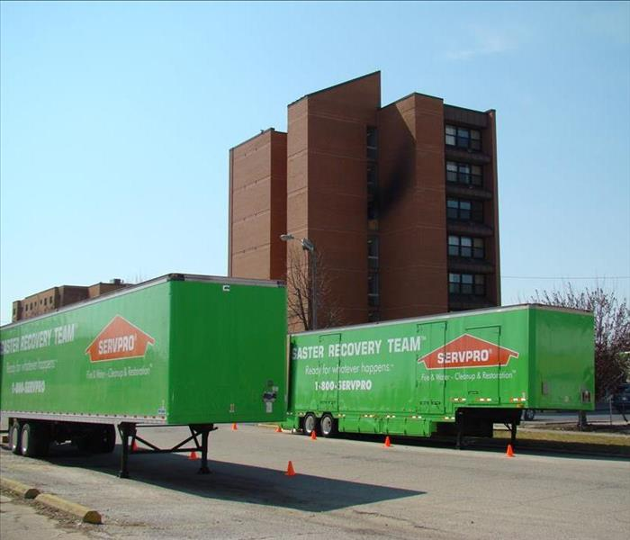 53' TEAM WOLFE SERVPRO Trailers